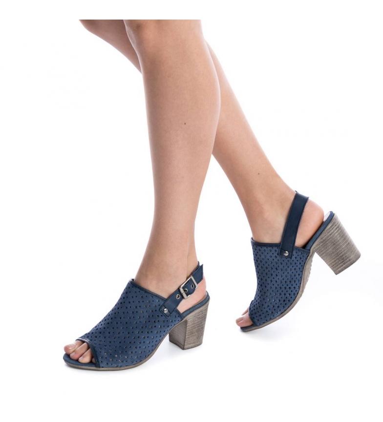 Carmela Sandalias de piel jeans