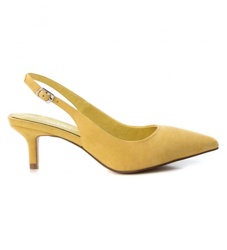Comprar Carmela Sandalia de piel 066753 amarillo -Altura tacón: 6cm-
