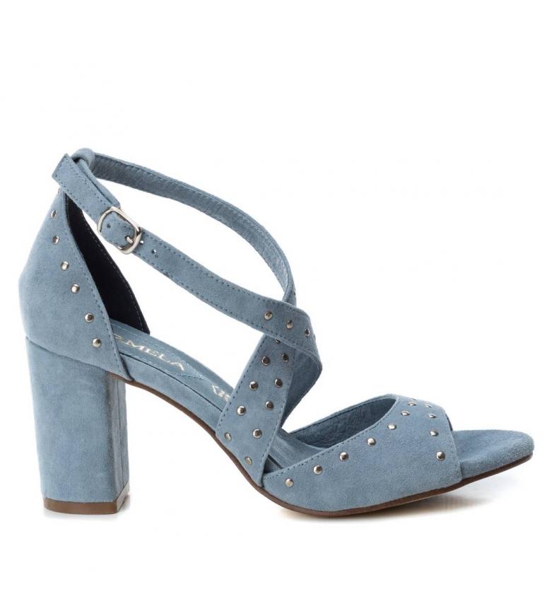 Comprar Carmela Sandalias de piel 066682 azul -Altura tacón: 8cm-