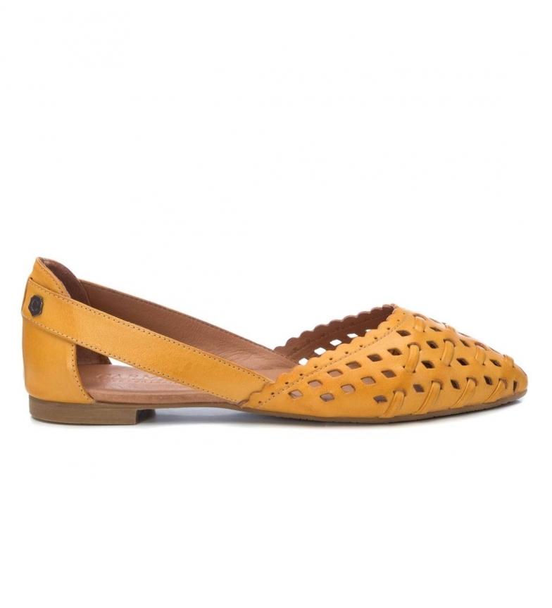 Comprar Carmela Ballerines en cuir 067112 jaune