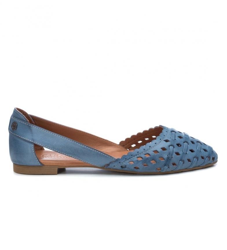 Comprar Carmela Ballerines en cuir 067112 bleu