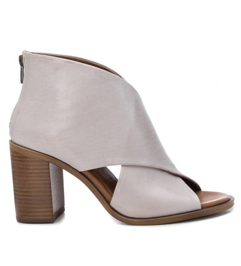 Comprar Carmela Leather sandals 067129 ice -Heel height: 8cm