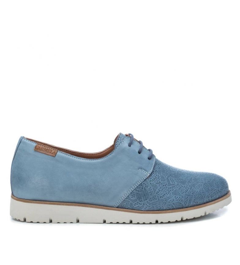Comprar Carmela Leather shoes 067141 blue