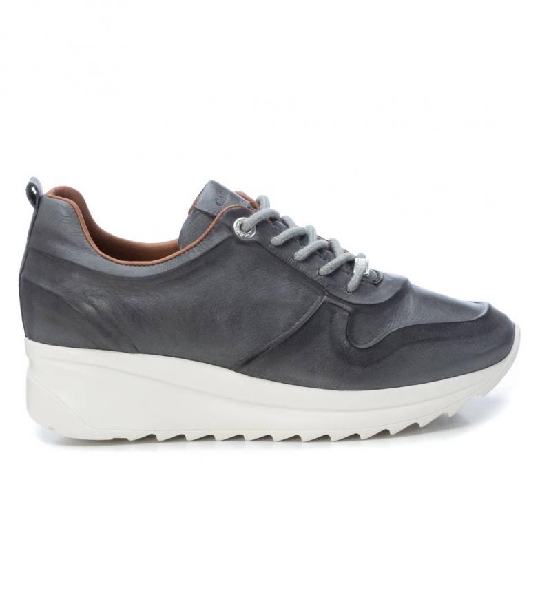 Comprar Carmela Zapatillas 67143 gris - Altura cuña: 4cm-