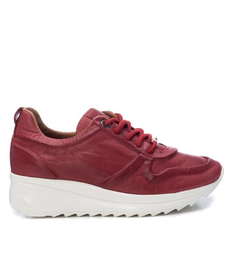Comprar Carmela Sapatos 67143 vermelho - Altura da cunha: 4cm