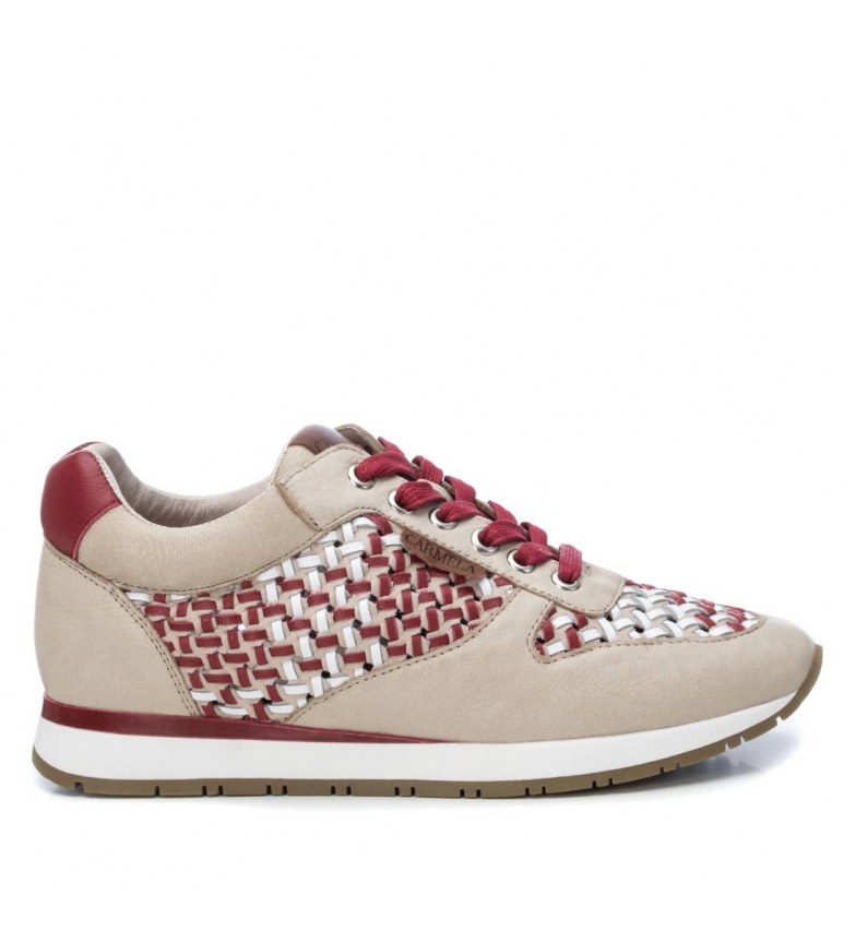 Comprar Carmela Chaussures en cuir 067279 bourgogne