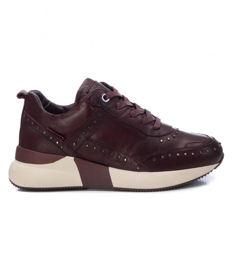 Comprar Carmela Sapatos de couro 067423 Borgonha -Altura da sola: 4cm