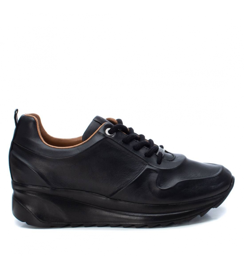 Comprar Carmela Leather shoes 067454 black - wedge height:4cm