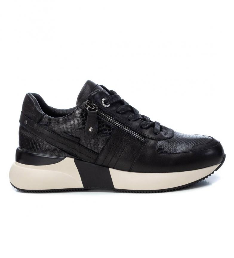 Comprar Carmela Zapatillas de piel  067592 negro -Altura suela: 4cm-
