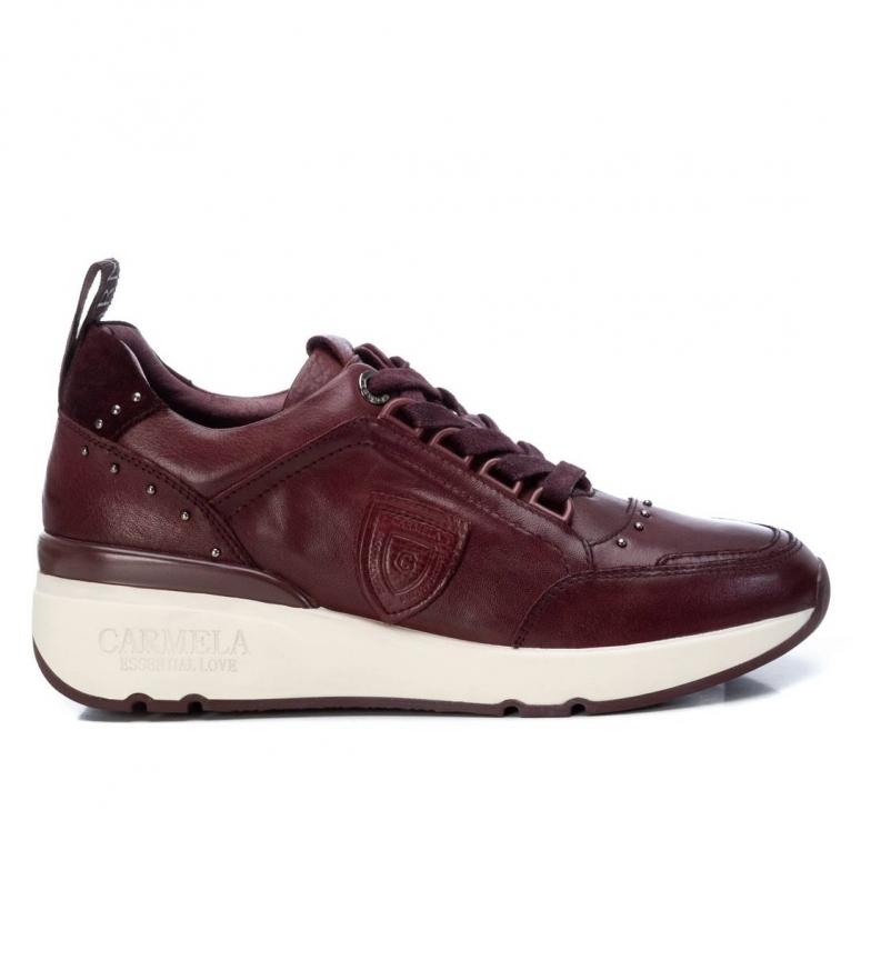 Carmela Sneakers in pelle 068039 granato