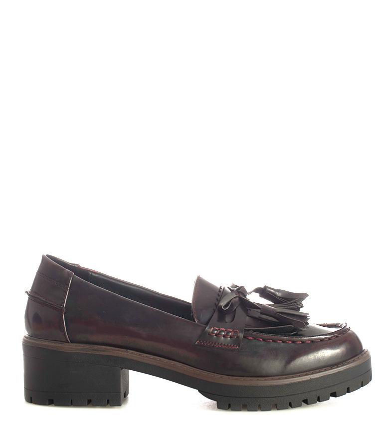 luxe marque célèbre le magasin Comprar Carmela Zapatos Florentic burdeos -Altura tacón: 4 ...