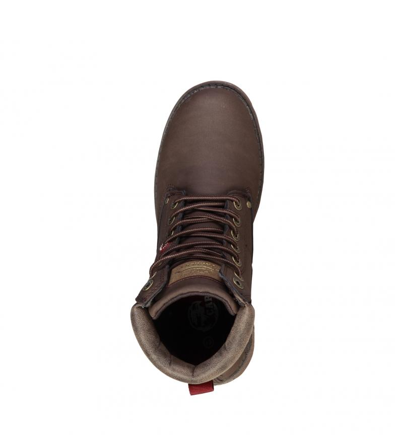 Carrera-Jeans-Scarponcini-Nevada-Uomo-Nero-Marrone-Grigio-Beige-Sintetico