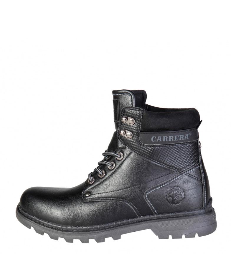 e06c4ece0b8 Carrera Jeans - Botas Texas Hombre chico Negro Marrón Sintético