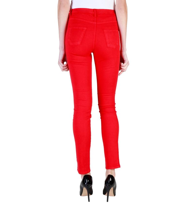 Carrera Jeans Pantal�n super stretch rojo