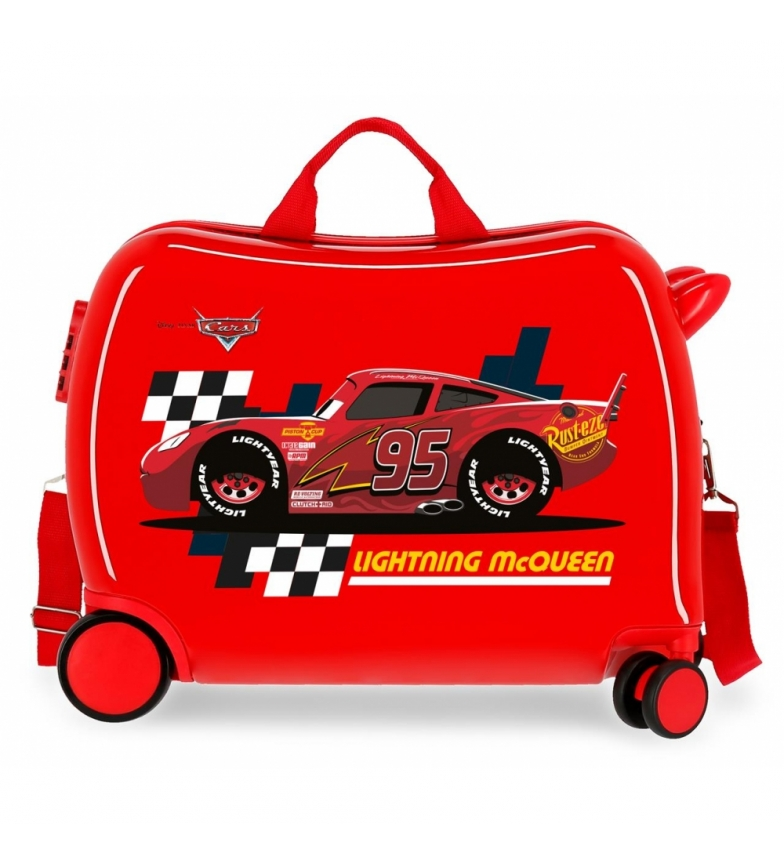 Comprar Cars McQueen Red valise multidirectionnelle 2 roues rouge -38x50x20cm