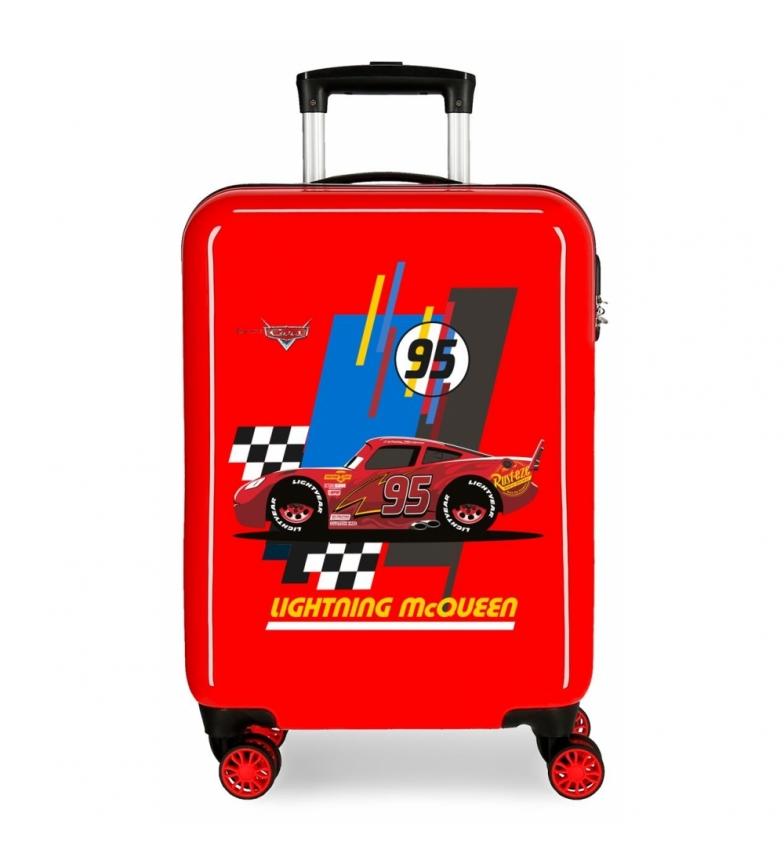 Comprar Cars Valigia cabina rigida Saetta McQueen rossa -38x50x20cm-