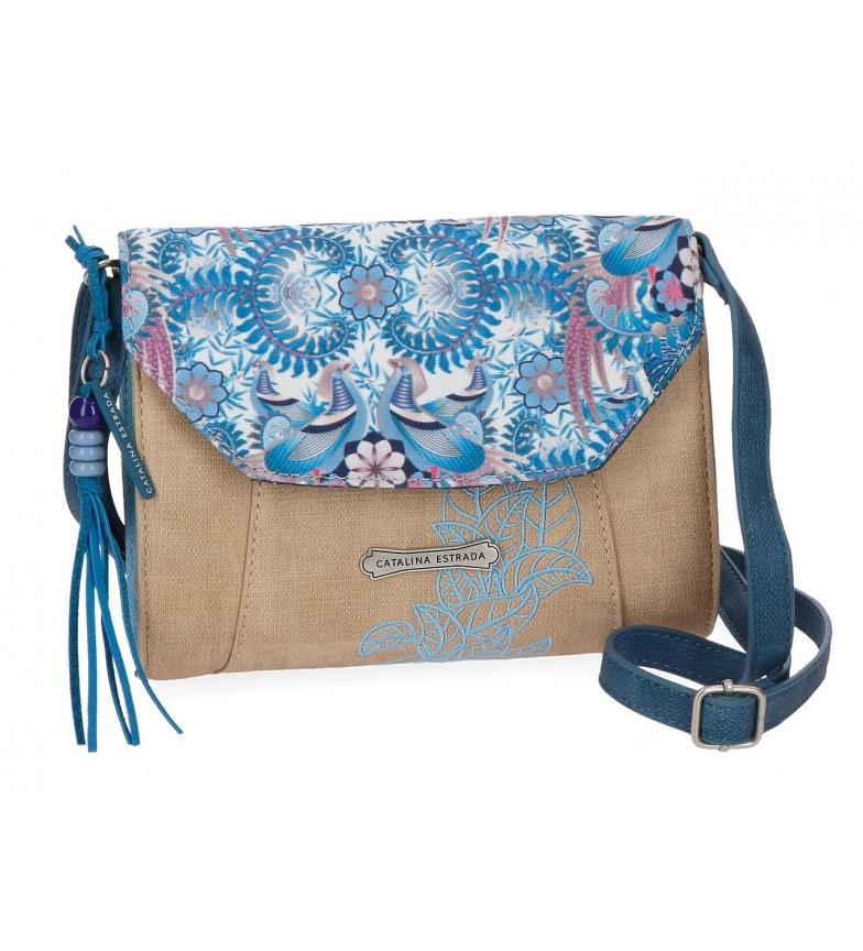 Comprar Catalina Estrada Catalina Estrada Faisan shoulder bag type on Blue