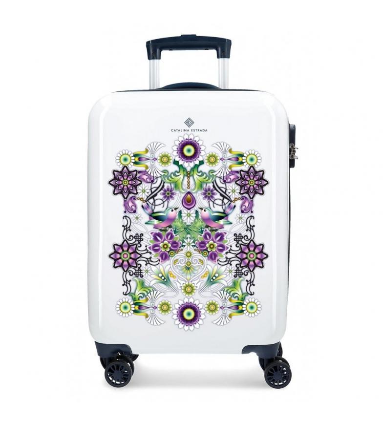 Comprar Catalina Estrada Cabin case Rigid fan blue -38x55x20cm