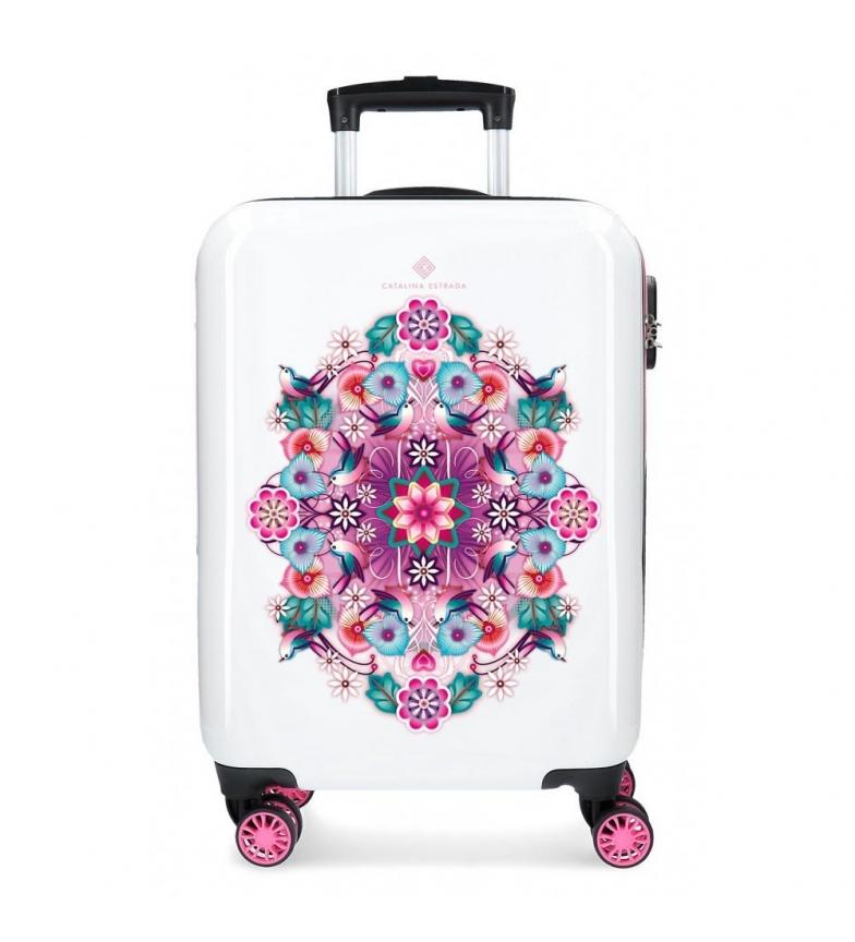 Comprar Catalina Estrada Cabin case Rigid fan pink -38x55x20cm