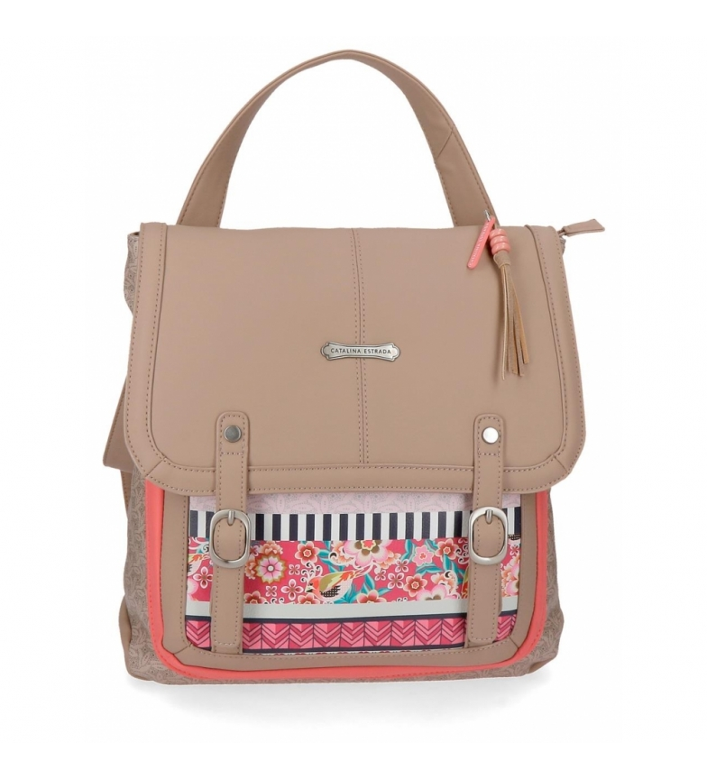 Comprar Catalina Estrada Casual backpack Catalina Estrada Nature with shoulder strap -30x29x8cm
