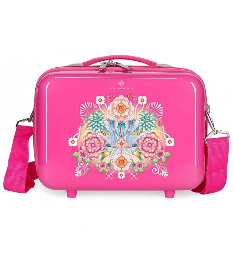 Comprar Catalina Estrada ABS Fuchsia fan bag -29x21x15cm