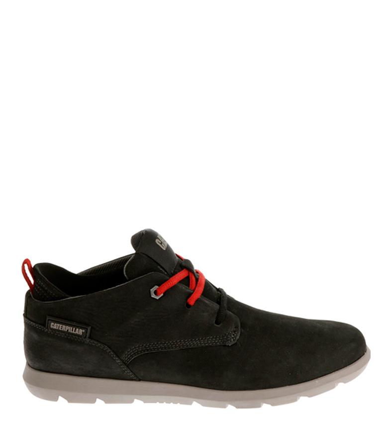 Comprar Caterpillar Roamer black leather ankle boots
