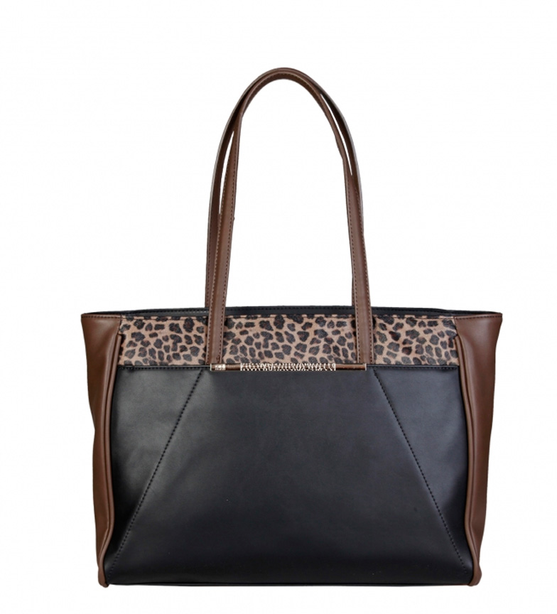 bf562e847 Comprar Cavalli Class Bolso shopping negro -45x29x14cm- - Tienda Es ...