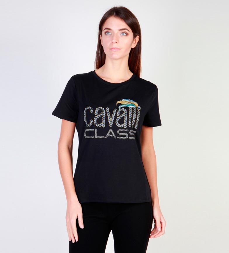 Cavalli Class Camiseta negro