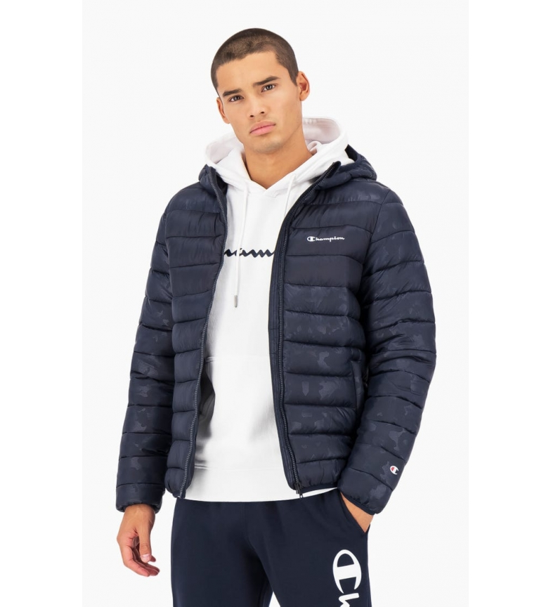 Comprar Champion Navy Camouflage Hooded Quilted Jacket