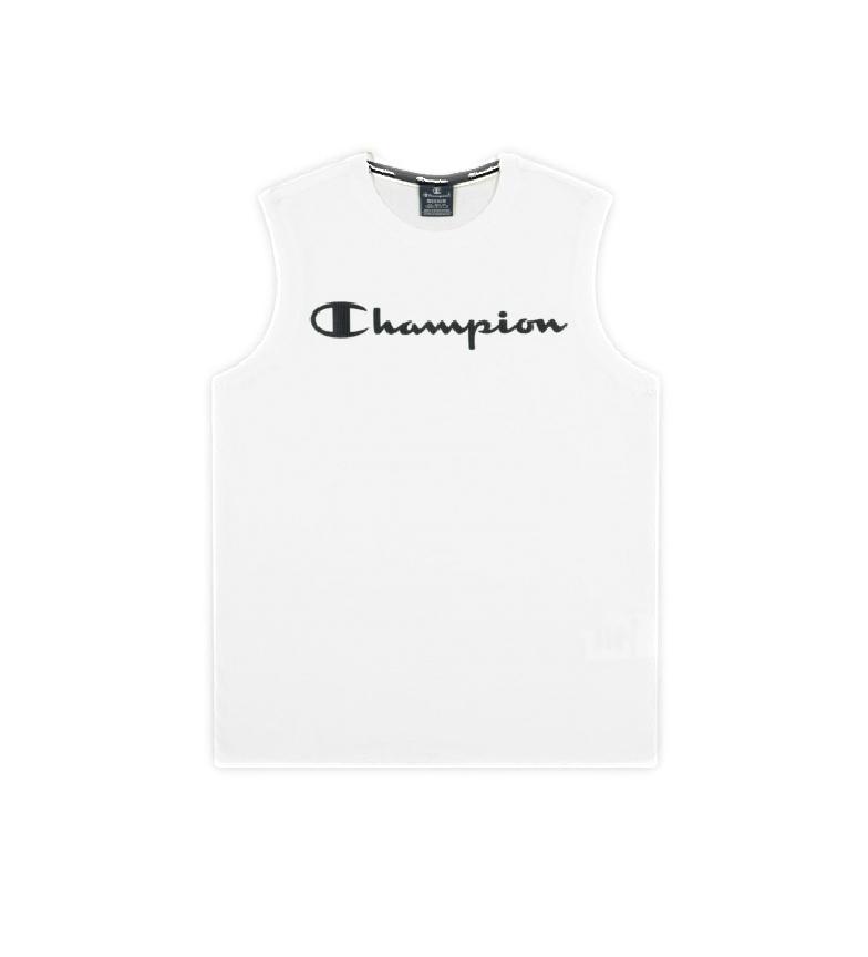 Champion T-shirt rossa con logo Tank Script