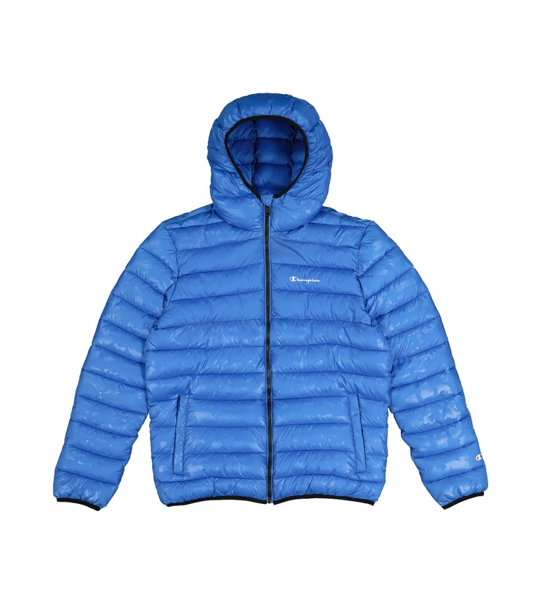 Comprar Champion Blue Camouflage Hooded Quilted Jacket