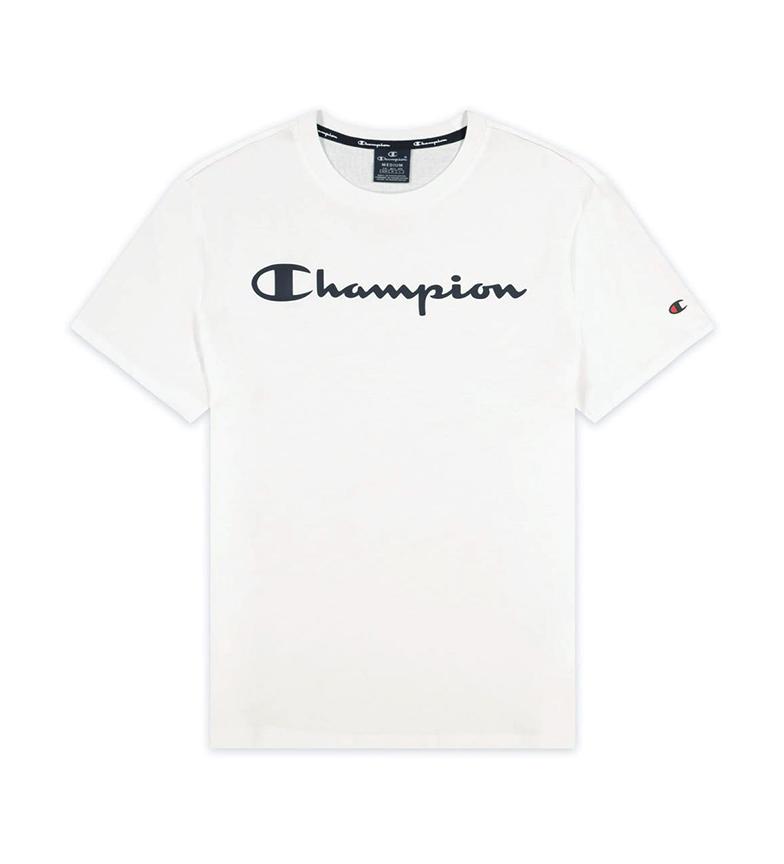 Champion T-shirt imprimé logo Script blanc