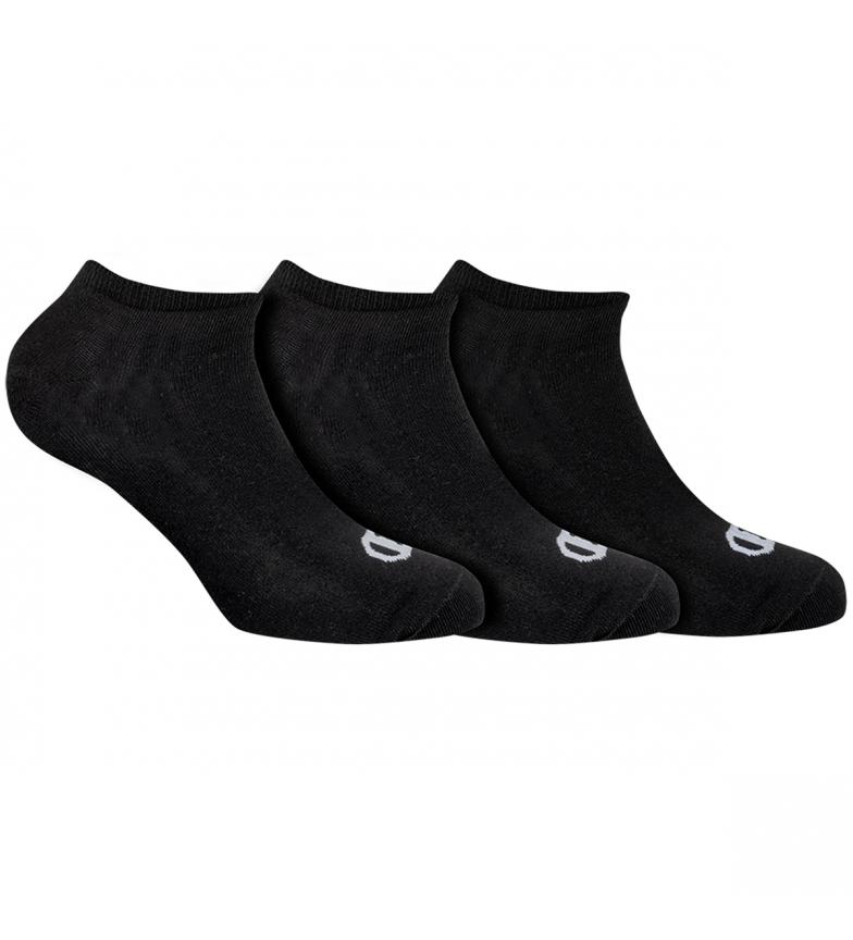 Comprar Champion Pacote de 3 pares de meias invisíveis de uma cor, pretas