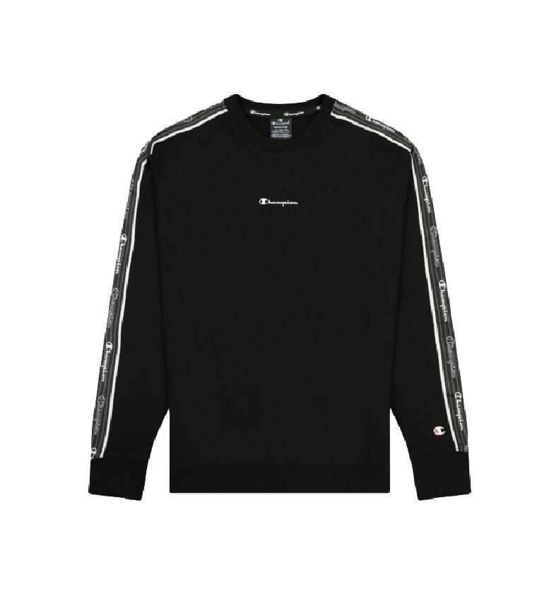 Comprar Champion Sweatshirt Jacquard Logo Tape Round Neck black