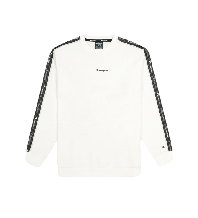 Comprar Champion Sweatshirt Jacquard Logo Tape Round Neck white
