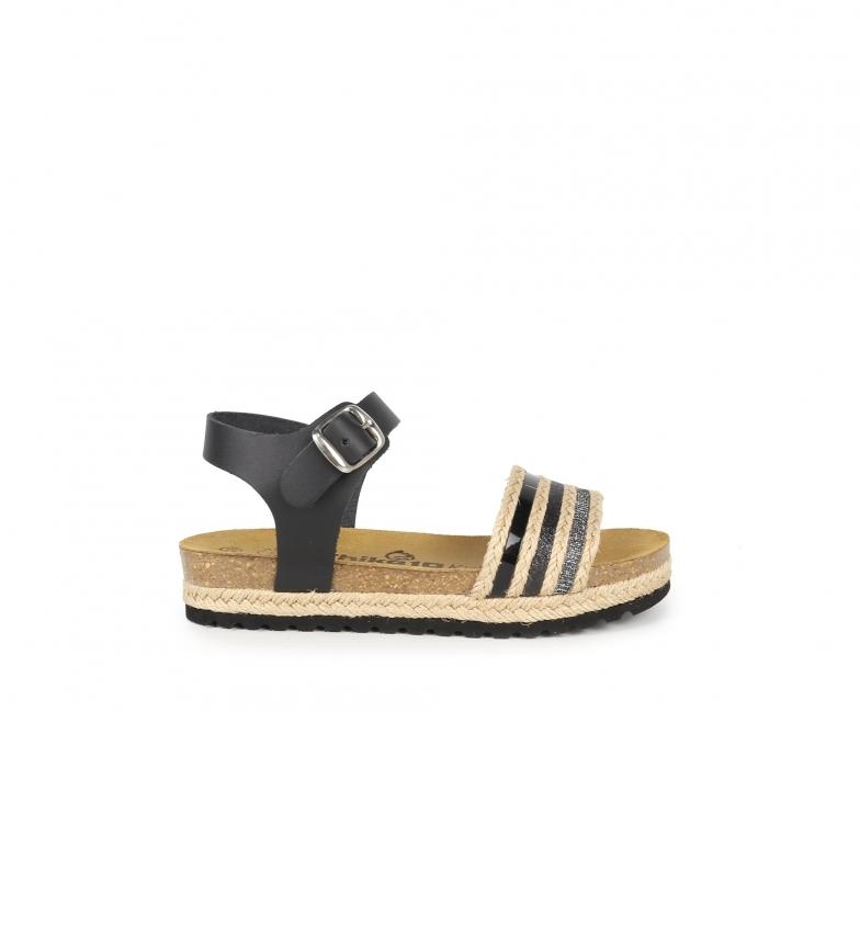Comprar Chika10 Kids Sandales en cuir Aslei 02 noir