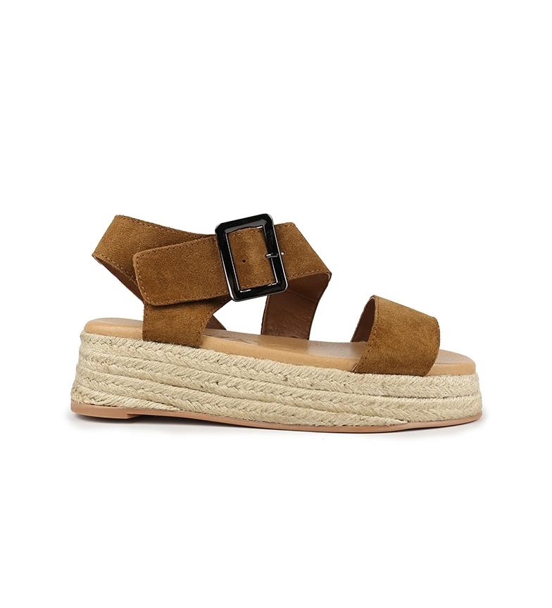 Comprar Chika10 Sandálias de couro Bonita 03 Couro