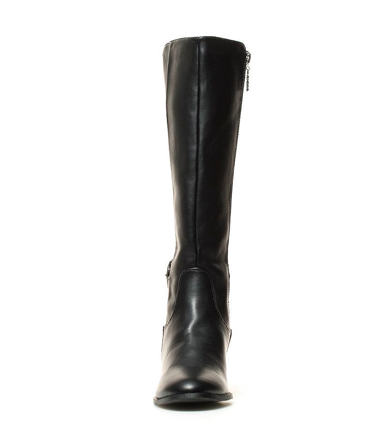 Chika10 Noa Heeled Svarte Støvler 03 Høyde: 7cm kjøpe billig nyeste visa betaling klaring geniue forhandler den billigste online aIYaGw