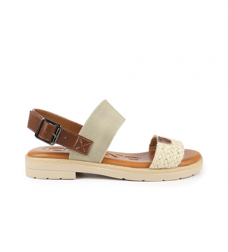 Comprar Chika10 Bulma 02 sandálias bege