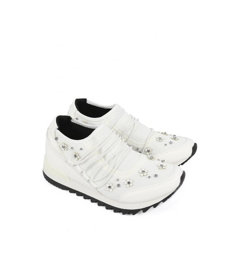 Mara Mara 01 01 blanco blanco Chika10 Zapatillas Zapatillas Chika10 HAYTnqxw
