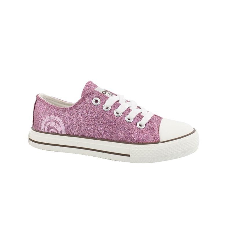 Chika10 Zapatillas Daisynew 02 rosa