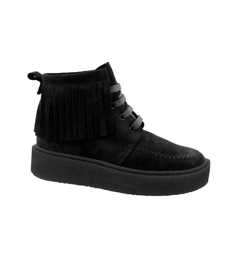Comprar Chika10 Jane 09 stivali di pelle nera