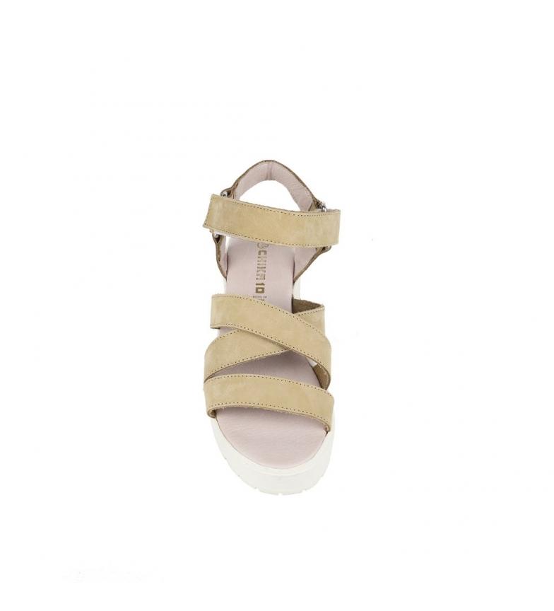 de 5cm Alaia Altura Chika10 piel beige Sandalias tacón 01 qnCwTvT75x