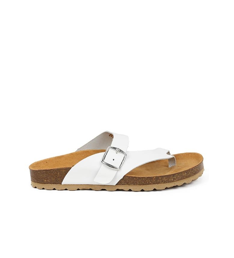 Comprar Chika10 Leather sandals Mabul 013 white
