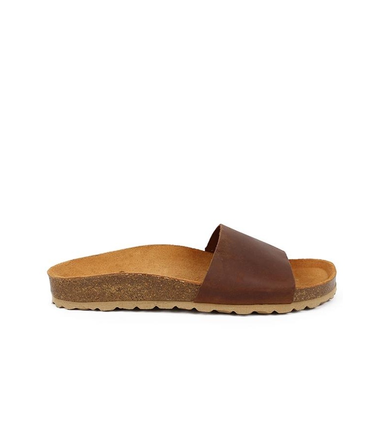 Comprar Chika10 Mabul 050 brown leather sandals