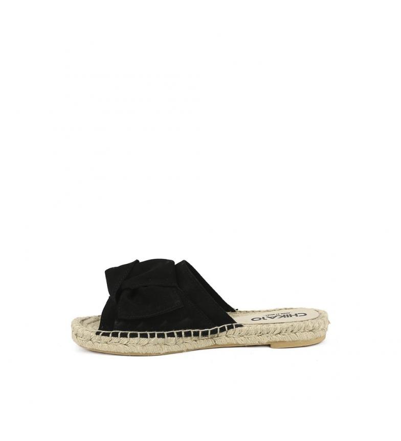 piel negro Chika10 Bio Sandalias Mediterráneo de 01 ZnYq4rYxEw