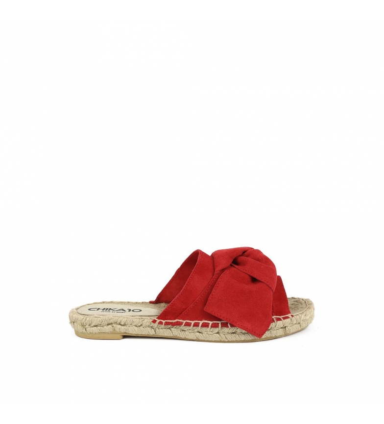 Chika10 piel Mediterráneo Bio de rojo Sandalias 01 pqwRZ