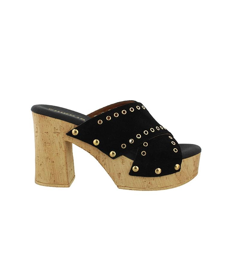 Comprar Chika10 Johana 02 leather sandals black