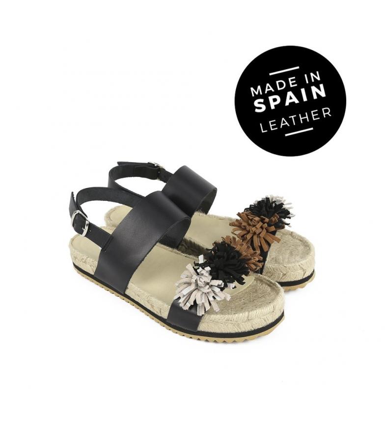 Chika10 Skinn Sandaler Nye Svart Nåde 02 salg billige priser salg 100% autentisk PktFLv