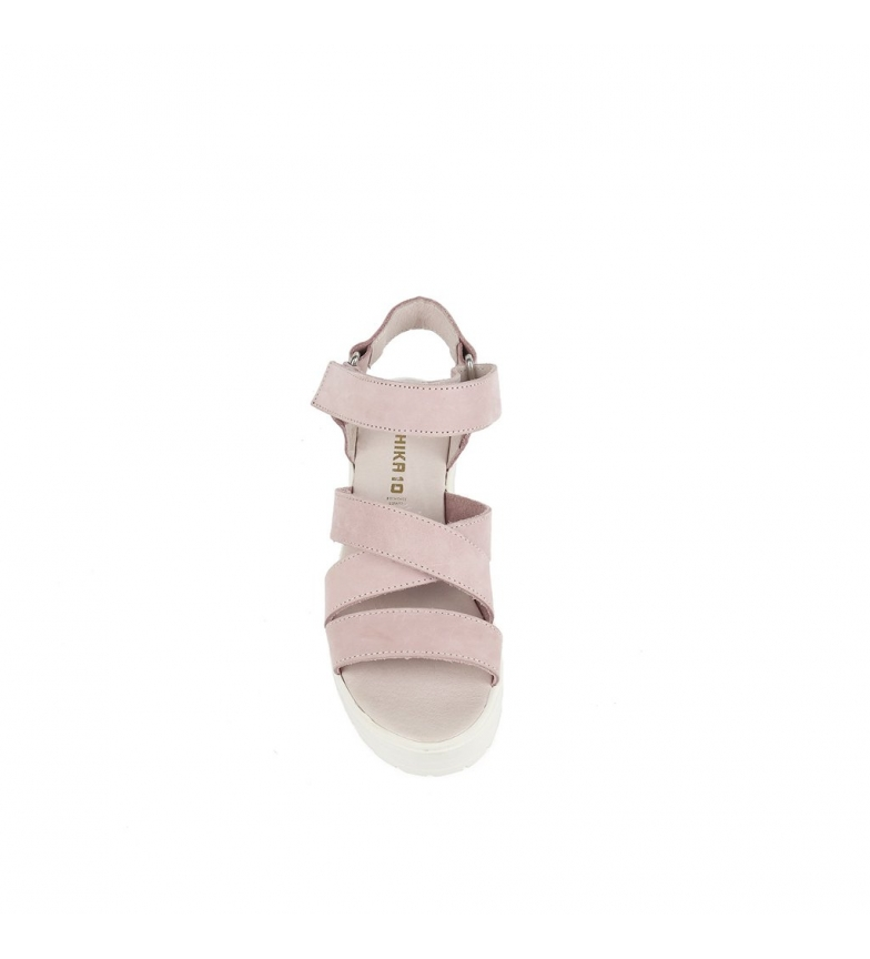 Sandalias 5cm Altura piel 01 Alaia de tacón rosa Chika10 g81Hvwq1